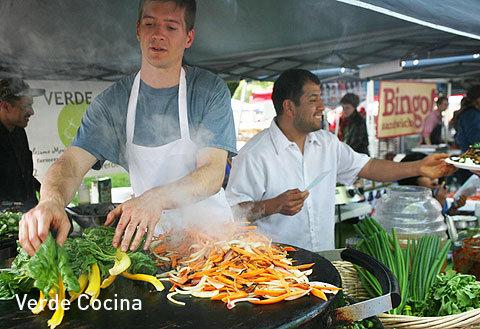 Gluten Free, Fresh Mexican Food at Portland Farmers markets