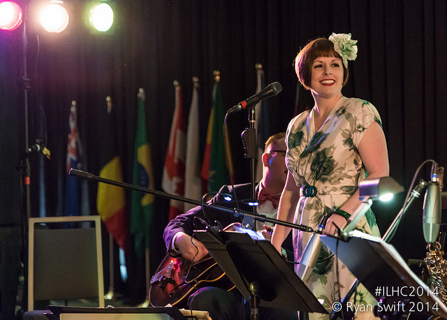 Laura Windley at ILHC 2014