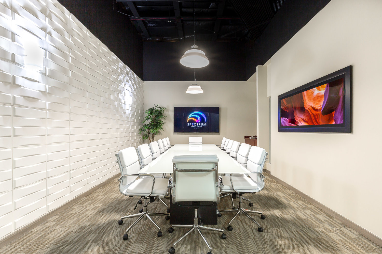 Closing Table Spectrum Realty Group Design District Miami