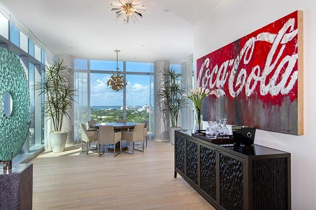 #Penthouse living with all the world-class amenities of the Miami Beach EDITION. The 5,246 SF unit features 4 bedrooms, 6 bathrooms and a huge rooftop terrace with views of the Atlantic Ocean, Biscayne Bay, Miami Beach, Sunny Isles, Downtown Miami and Brickell. The unit was was designed by architect John Pawson. The residence features 20-foot floor-to-ceiling windows, teak woods floors, custom staircase, interiors by Steven G., Bulthaup gourmet kitchen and a huge rooftop terrace complete with a summer kitchen, outdoor entertainment area and a 36' private rooftop pool. Currently listed for $25.999 million. #MiamiBeachEdition #LuxuryListings #MiamiRealEstate • • • For more information buying, renting or selling real-estate in Miami head to DemetriDemascusMiami.com Call/ Text: 203-252-7201