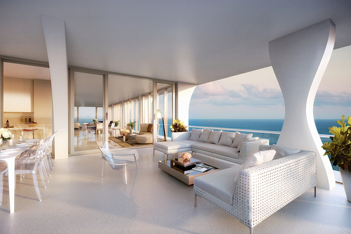 """Beachfront luxury living in an architectural masterpiece by Herzog & de Meuron in Sunny Isles Beach. Jade Signature has a limited selection of residences remaining among the tower's most luxurious units. Known as """"The Collection,"""" the portfolio is a compilation of two-story Sky Villas and penthouses, ranging from $14.2 million to $32.9 million. The Sky Villas feature flow-through views, expansive terraces, private elevators, smart technology, service quarters and PYR-designed bathroom cabinetry. There are also two, full-floor penthouses with all the features of the sky villa as well as a private pool, gym and 360-degree views of the Atlantic Ocean, Intracoastal Water and the Miami skyline. Additional availability includes 3- to 5-bedroom residences, with sizes starting at 3,312 square feet and prices starting at $4.8 million. Call, text or DM us today for more information or to set up a showing. #JadeSignature #SRGmiami • • • For more information buying, renting or selling real-estate in Miami head to DemetriDemascusMiami.com Call/ Text: 203-252-7201"""