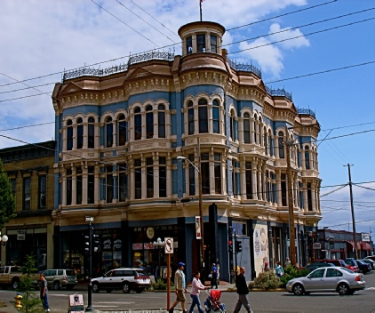 Victorian Era historic buildings make up Port Townsend's downtown. Most dating from the late 1800s.