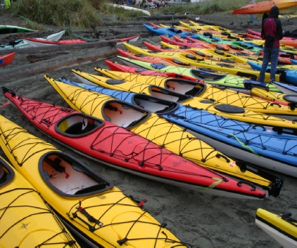 Open water and river Kayaking is a very popular past time in and around Port Townsend.