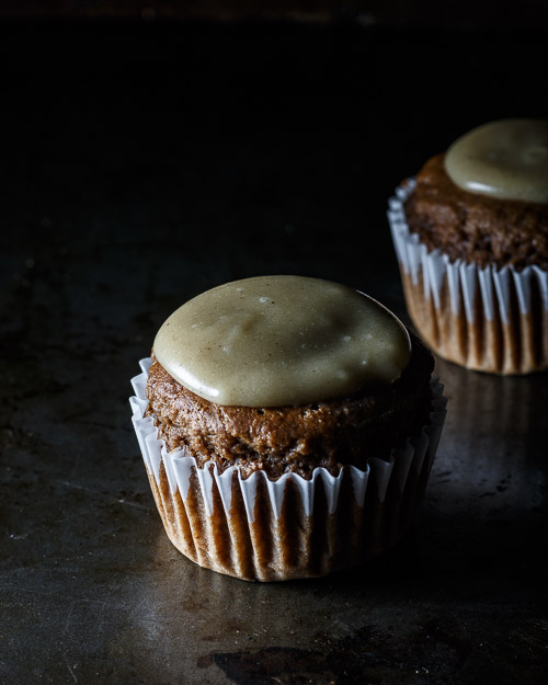 Chocolate Peanut Butter Cupcakes (Oil-free)