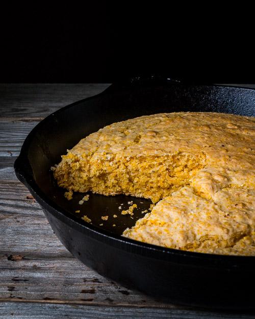 Cornbread (Oil-free)