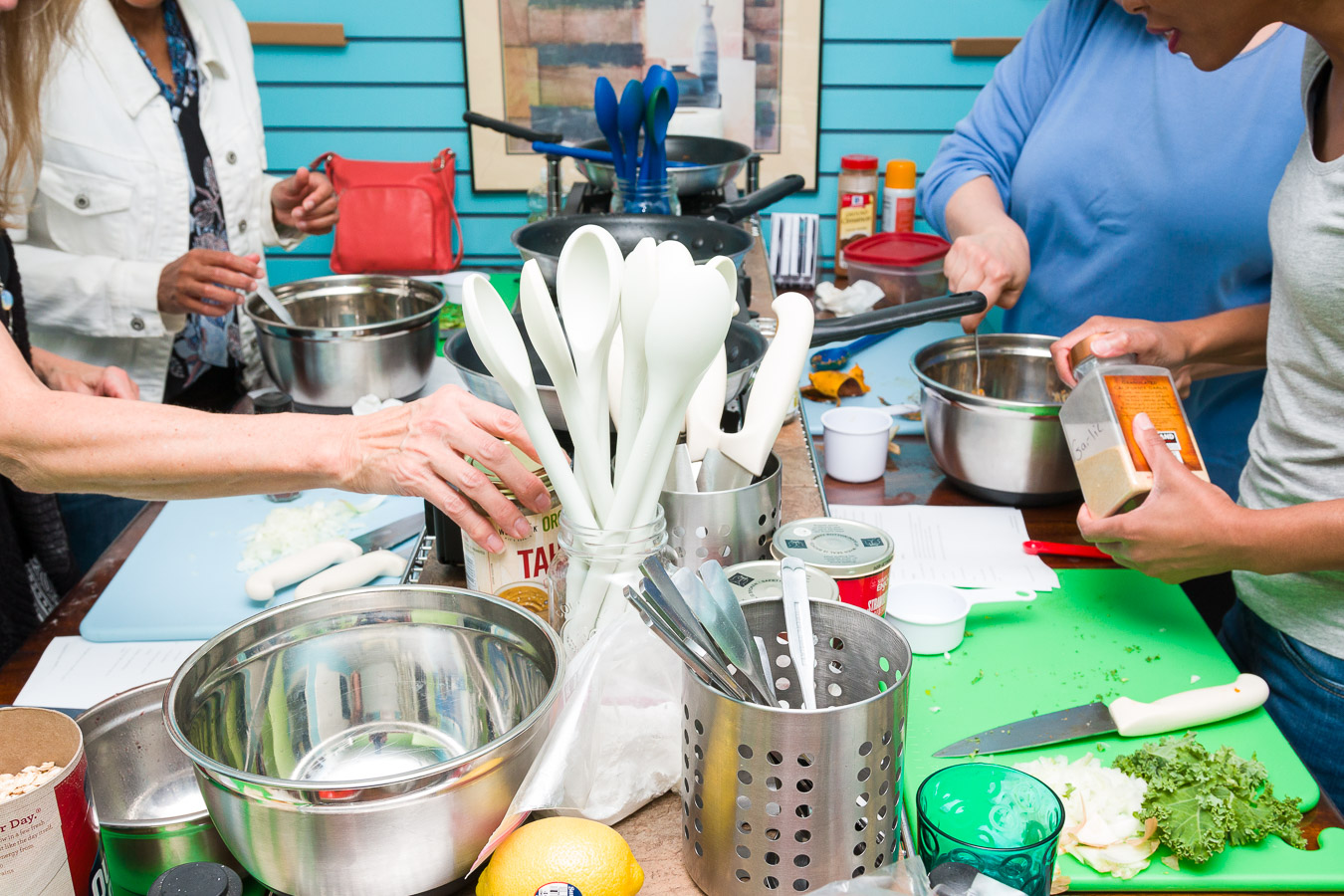Vegan Cooking Classes at iCreate Cafe