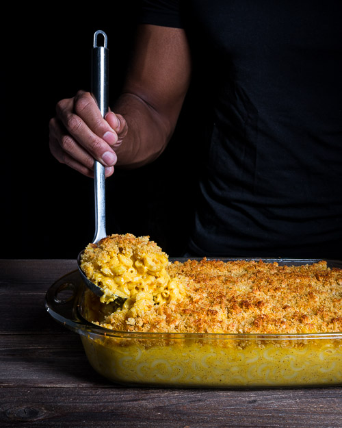 Baked Mac & Cheese (Dairy free!)