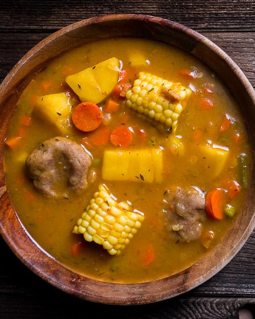 Vegan Jamaican Vegetable Soup