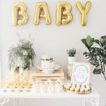 Baby Showers and Gender Reveals - Welcome your little one in stye. Baby Shower and Gender reveal packages include tables, chairs, linens, centerpieces, select foods and professional photography.