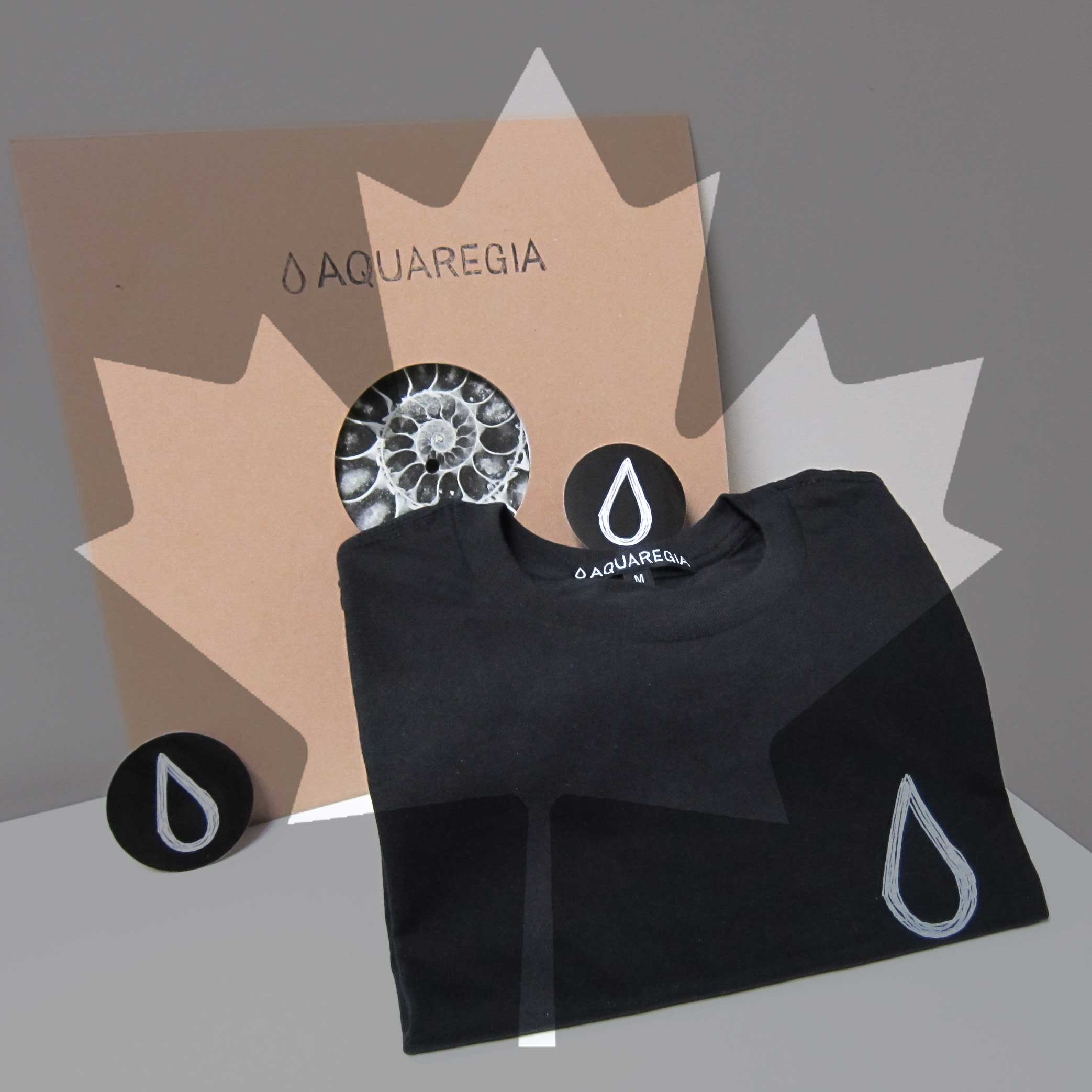 The Aquaregia Canada day sale allows you to save when you buy a vinyl and a t-shirt together.