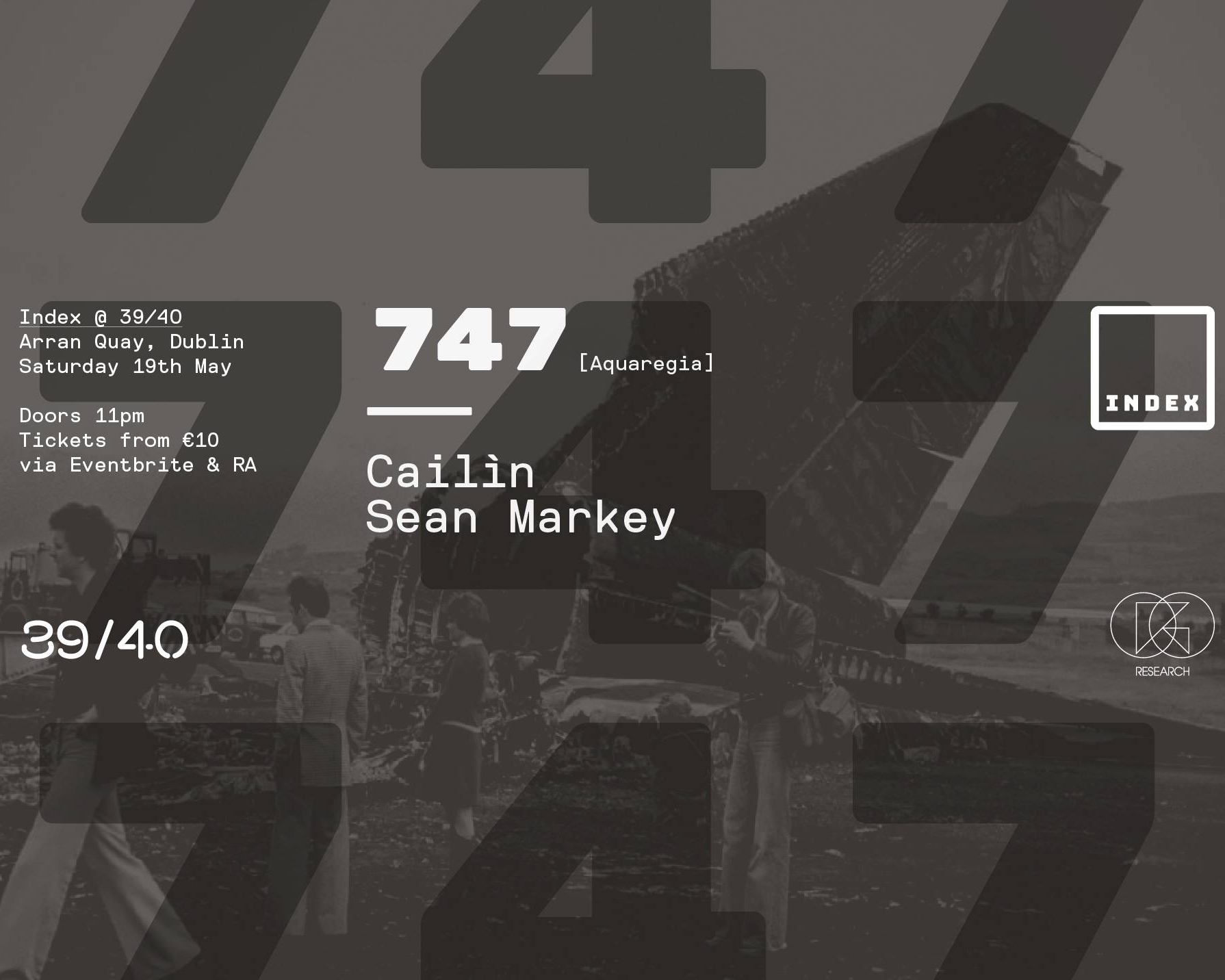747 will be DJing at Index in Dublin on May 19 2018.