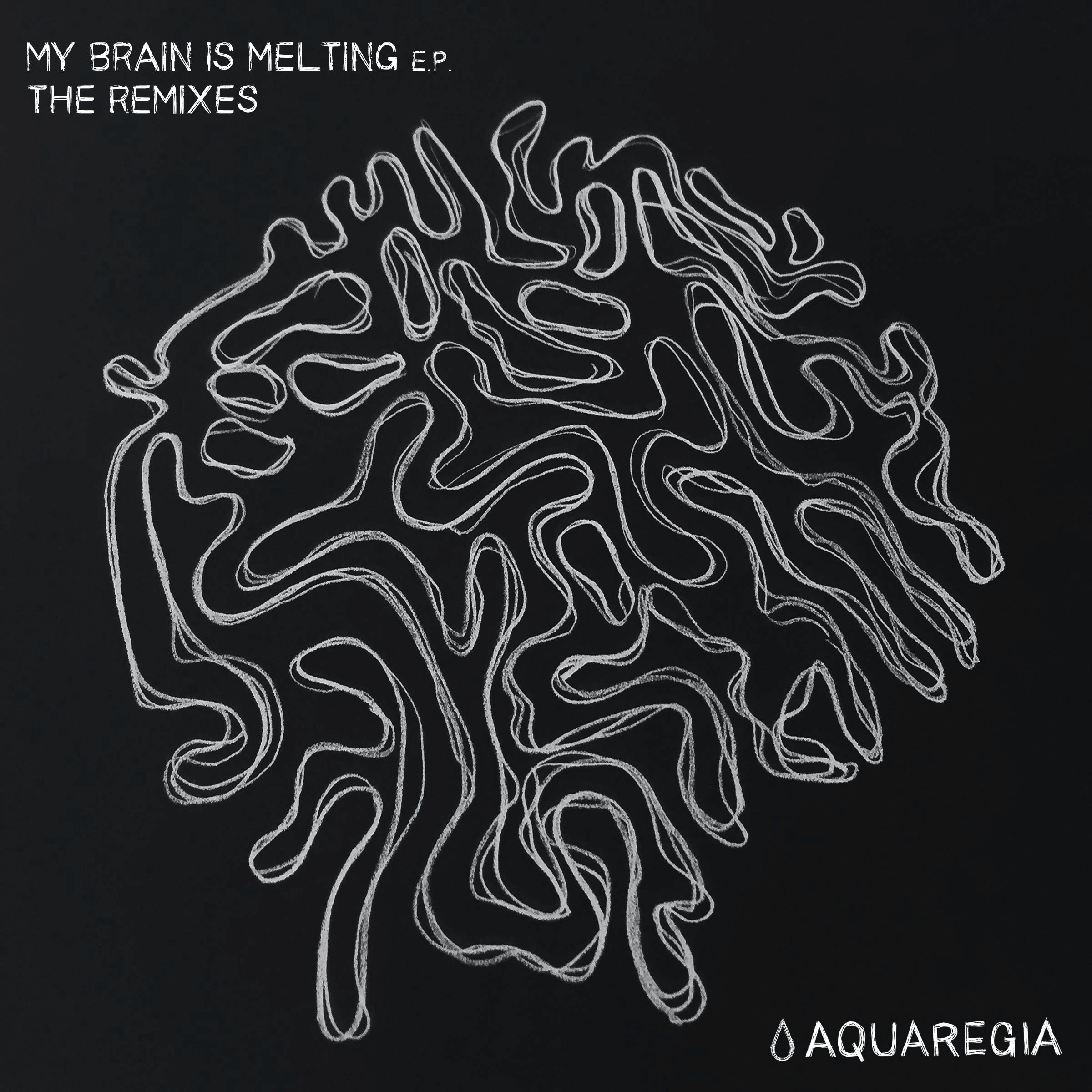 747 - My Brain Is Melting EP, The Remixes [AQR004]