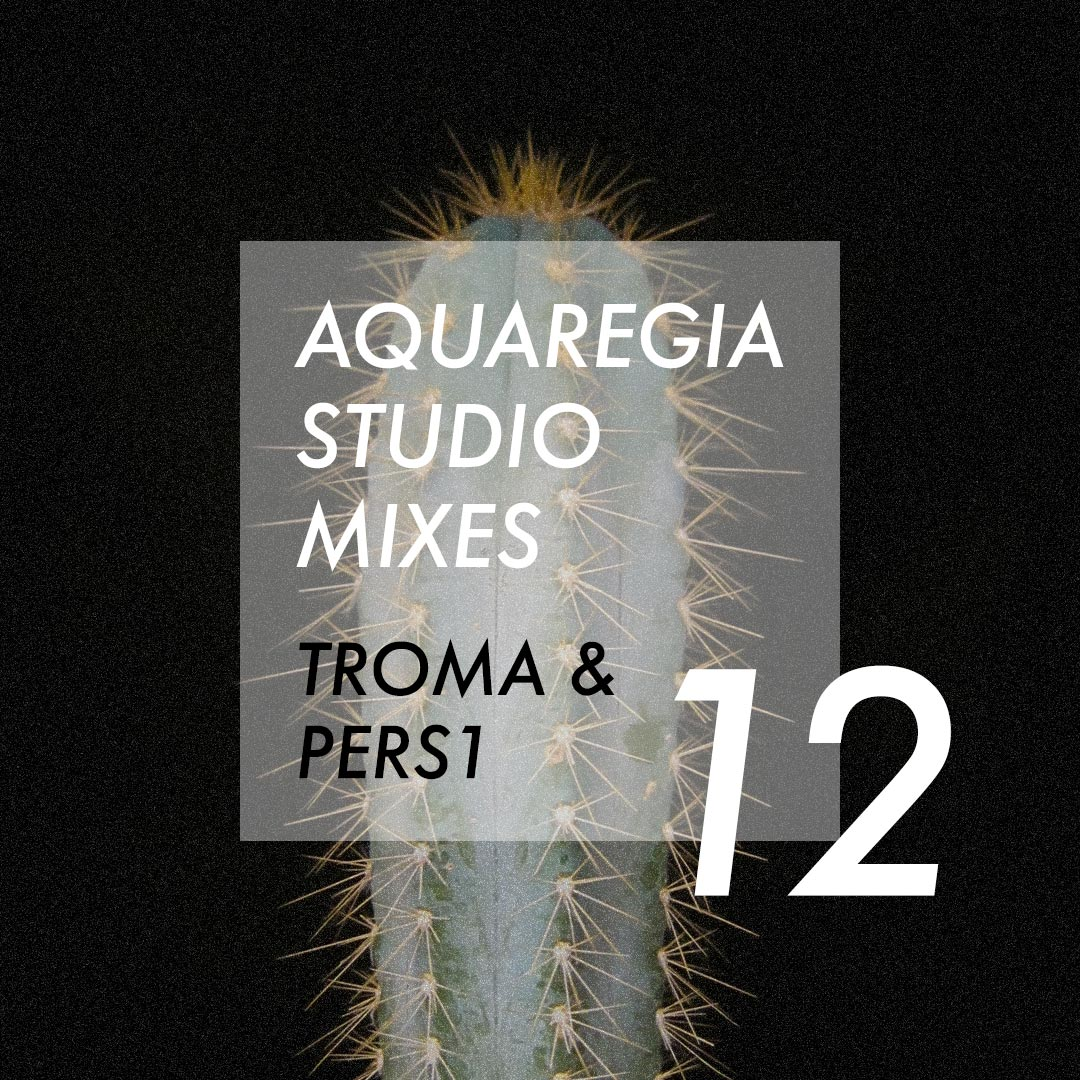Troma & PERS1 with an interstellar mix for the 12th edition of Aquaregia Studio Mixes.