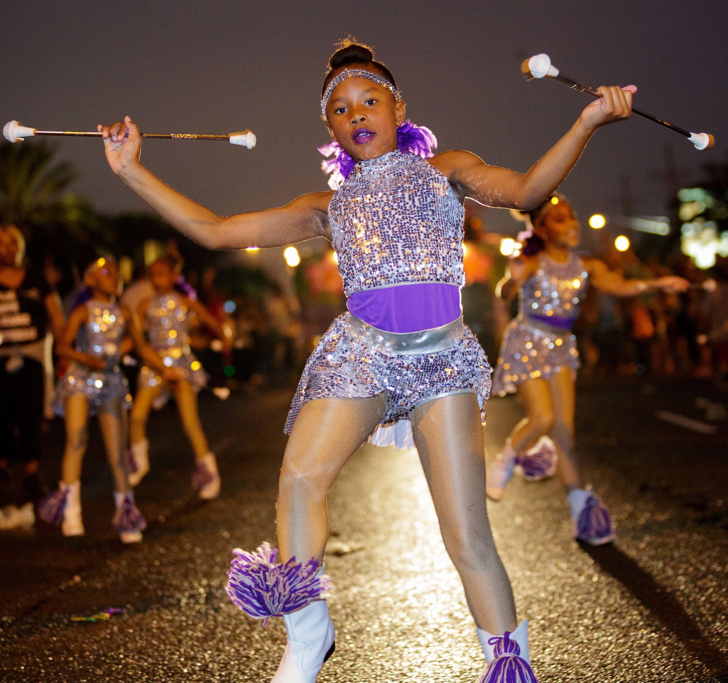 The Krewe of Athena Parade
