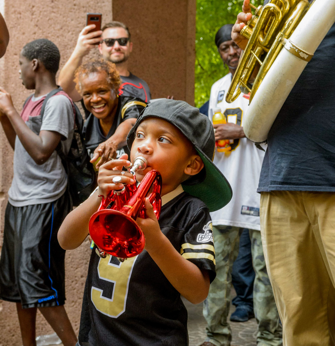 Saints Game Day Second Line