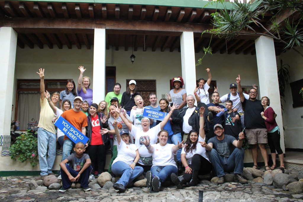 our amazing team of volunteers