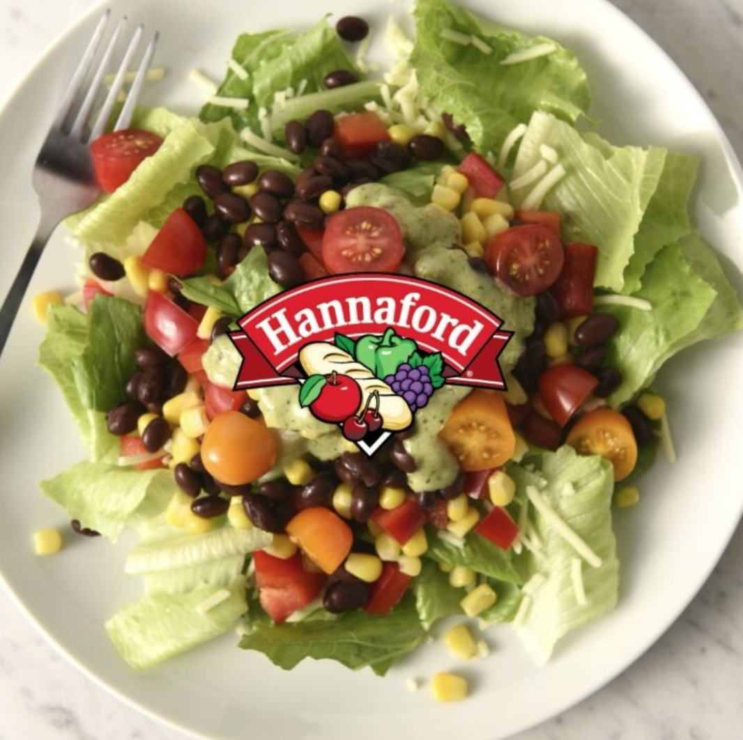 Layered Salads for Hannaford Supermarkets - Storyboard, art direction, food styling, and social media