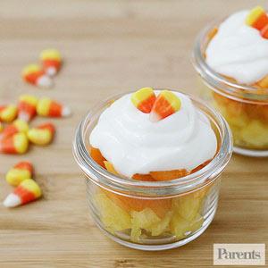 Candy Corn Fruit Cups, Parents.com