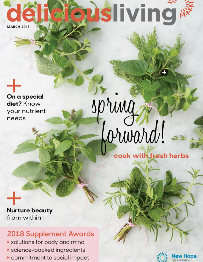 March Delicious Living