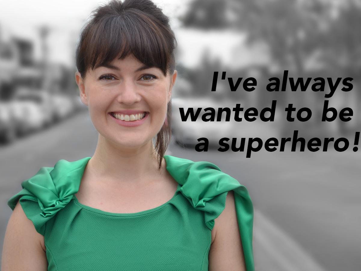 Sarah Clarke as The Green Defender