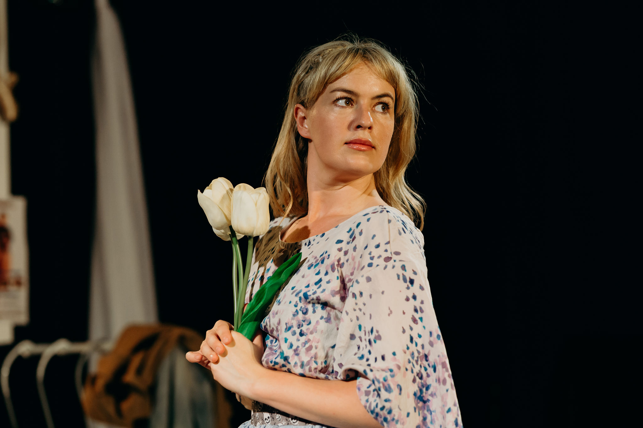 Sarah Clarke as Ophelia. Image: Jack Dixon-Gunn