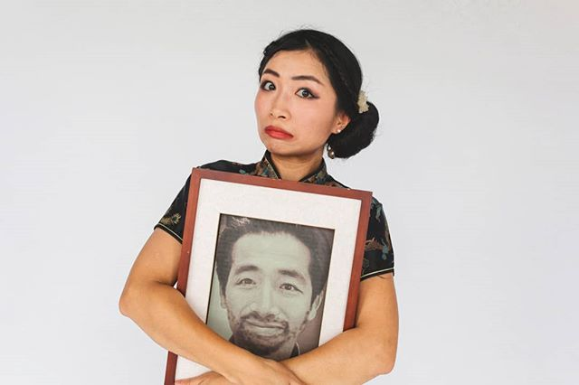 How I Met My Dead Husband by Lansy Feng  The cabaret funeral about love, life, the next life, the one after that, and then the other one.  Bluestone Church Arts Space, Footscray and The Bowery Theatre, St Albans. This August and September.  Footscray tickets on sale now! Link in bio.