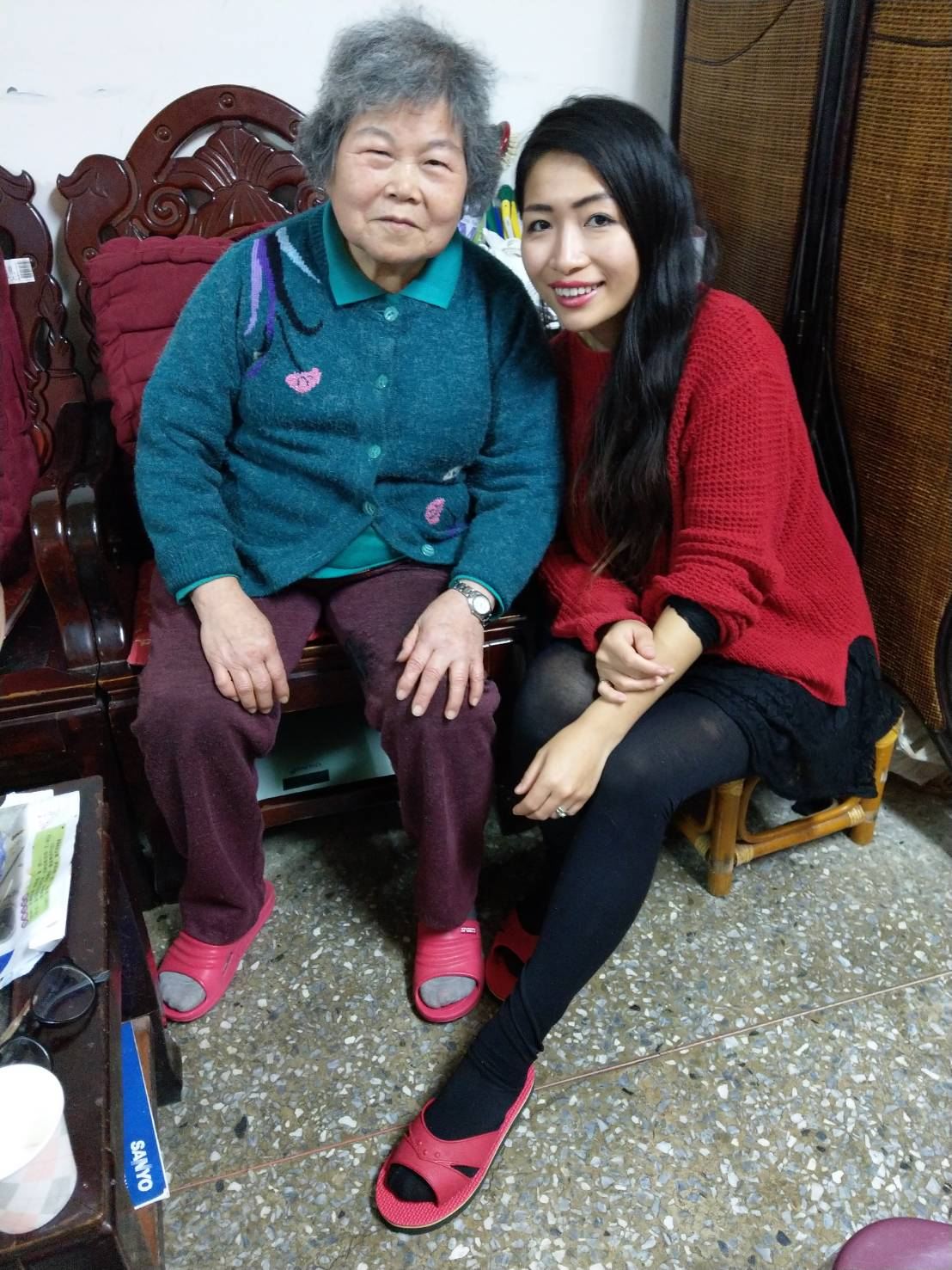 Me and PuoPuo (nanny)