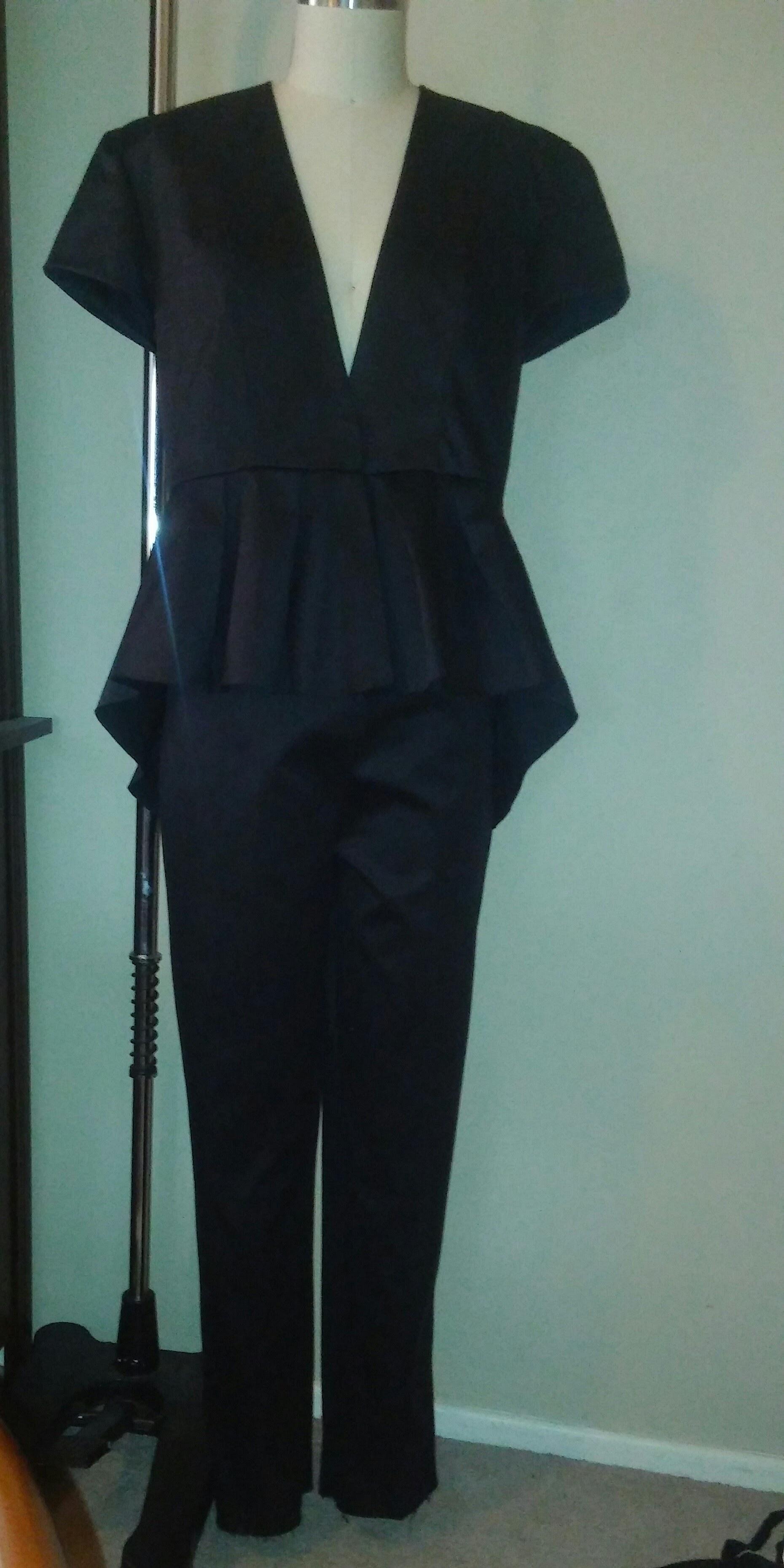 Two piece Peplum Suit