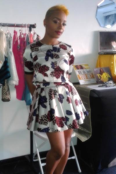 Two Piece Designer Print Skirt Set