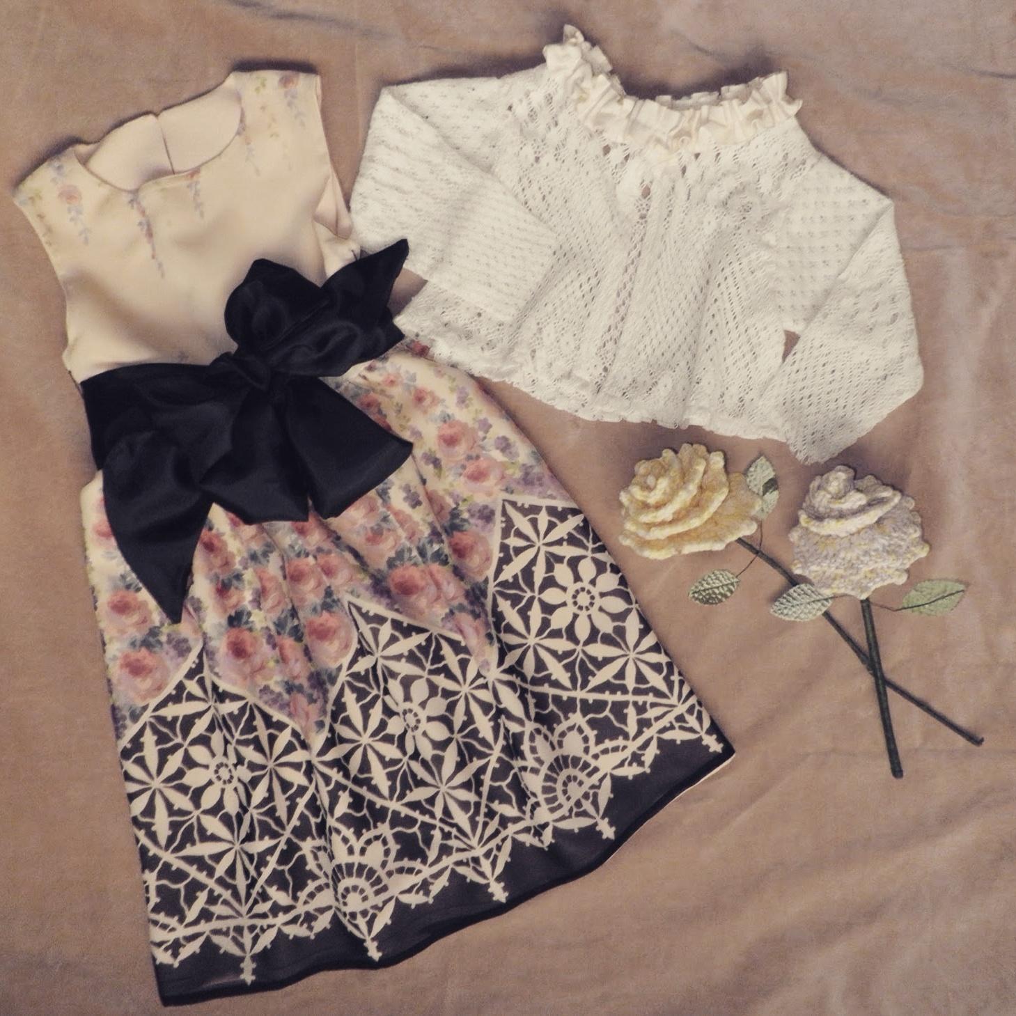 Designer Print Spring Dress
