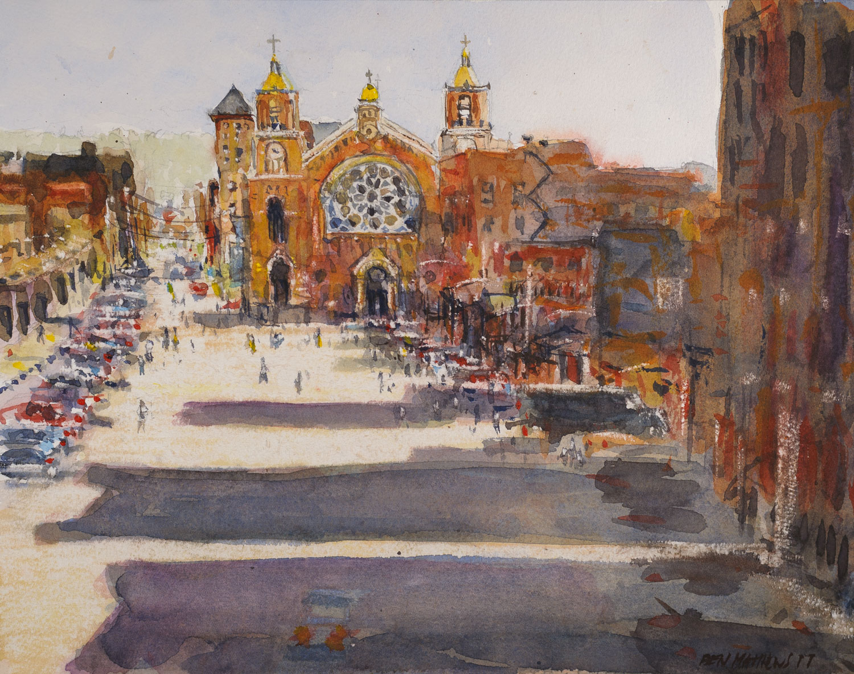 St. Stanislaus Kostka Church, The Strip