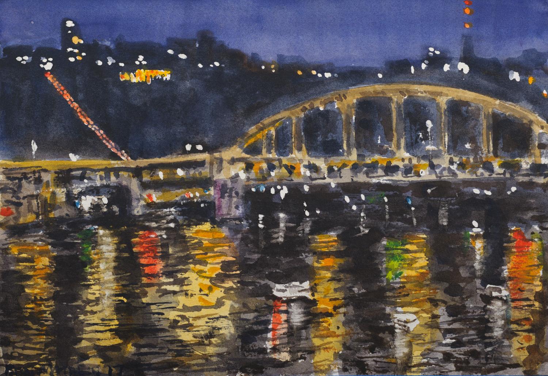 View From Roberto Clemente Bridge
