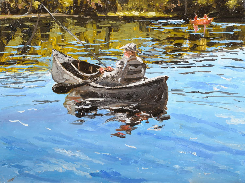 The Old Fisherman, Adirondacks, Ny.