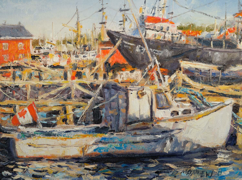 Boats, Lunenburg, Nova Scotia