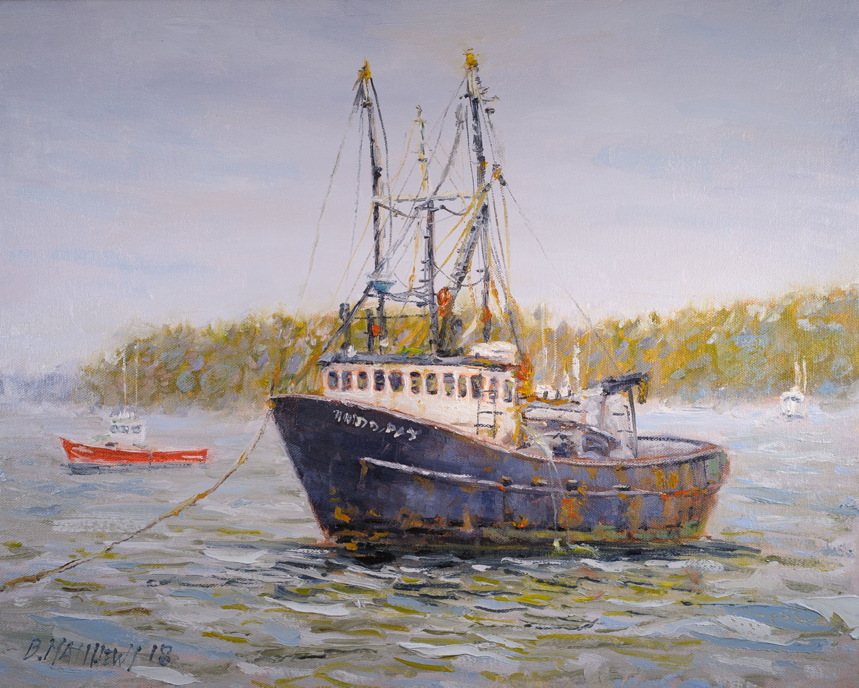 The Old Boat, Mt. Desert Island