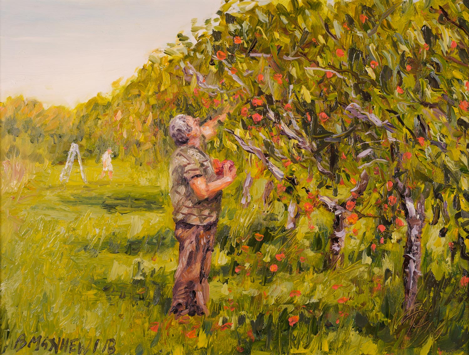 Peach Pickers, North East, Pa