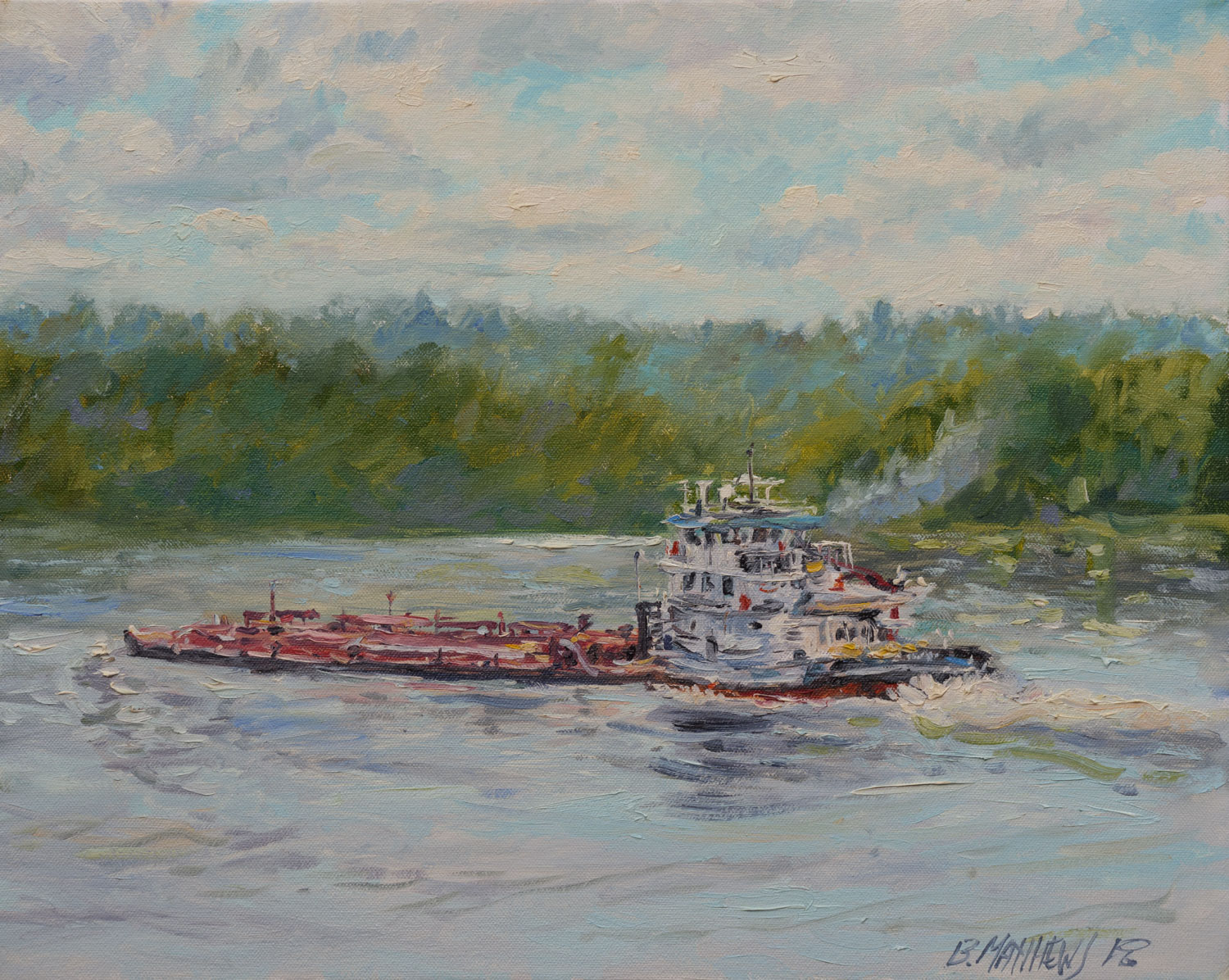 Barge, Duck Hollow