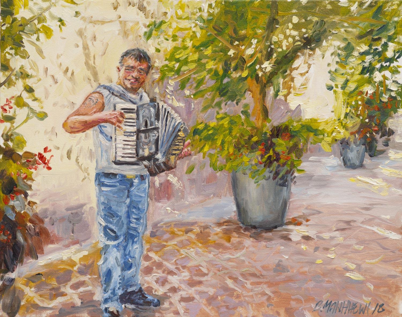 The Accordion Player, Colmar, France