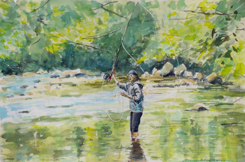 The Young Angler