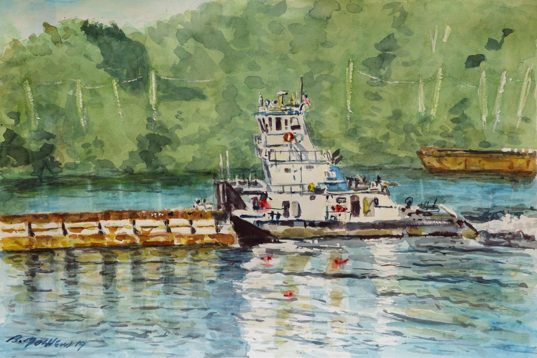 Watercolor, 15x22, 2019
