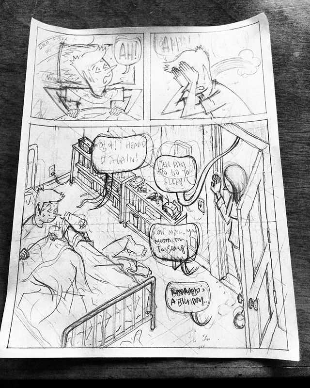Pencils started, Timber Run, issue 2. #comics