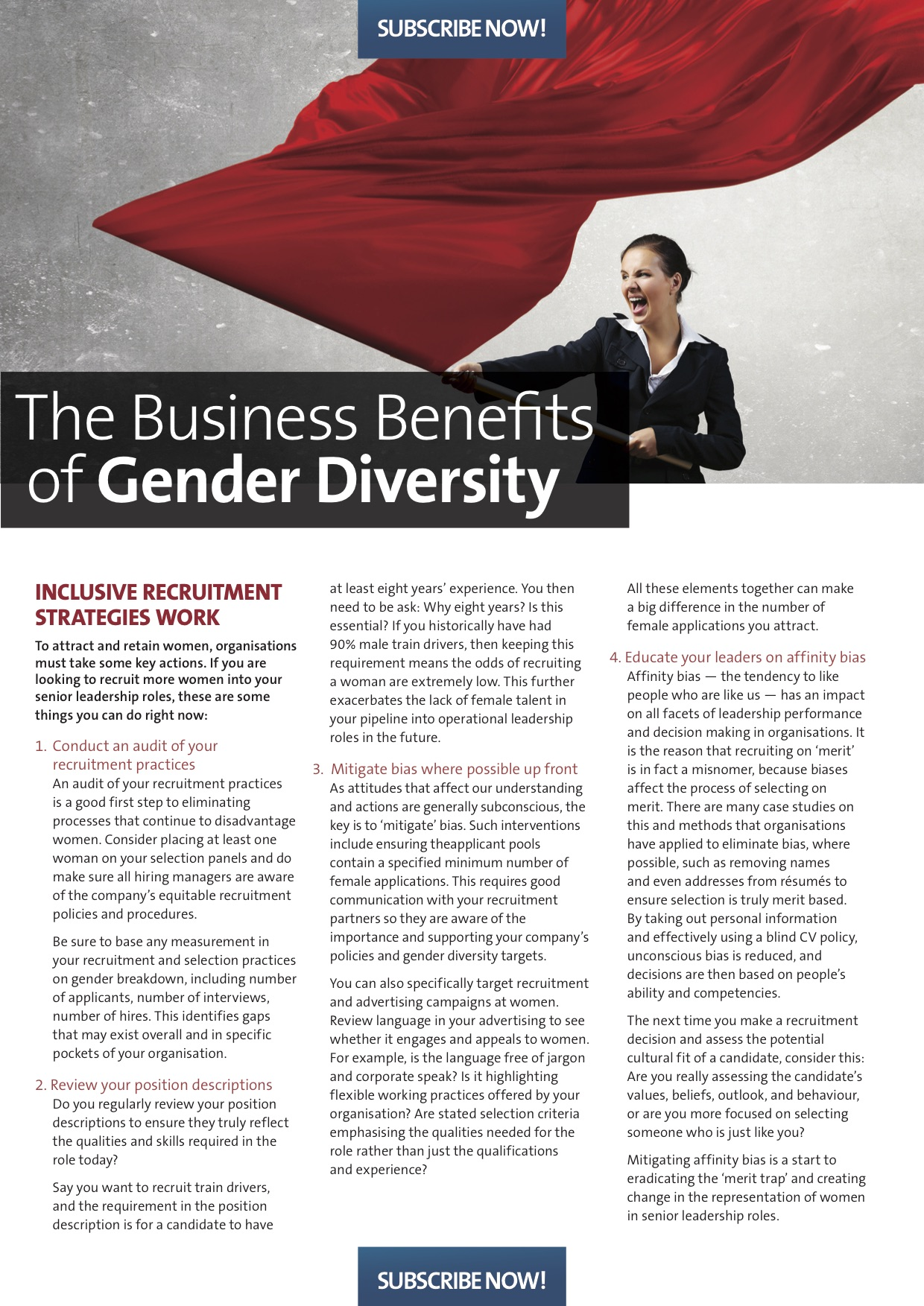 Belinda Brosnan Article - The Business Benefits of Gender Diversity - Drake International page 1.jpg