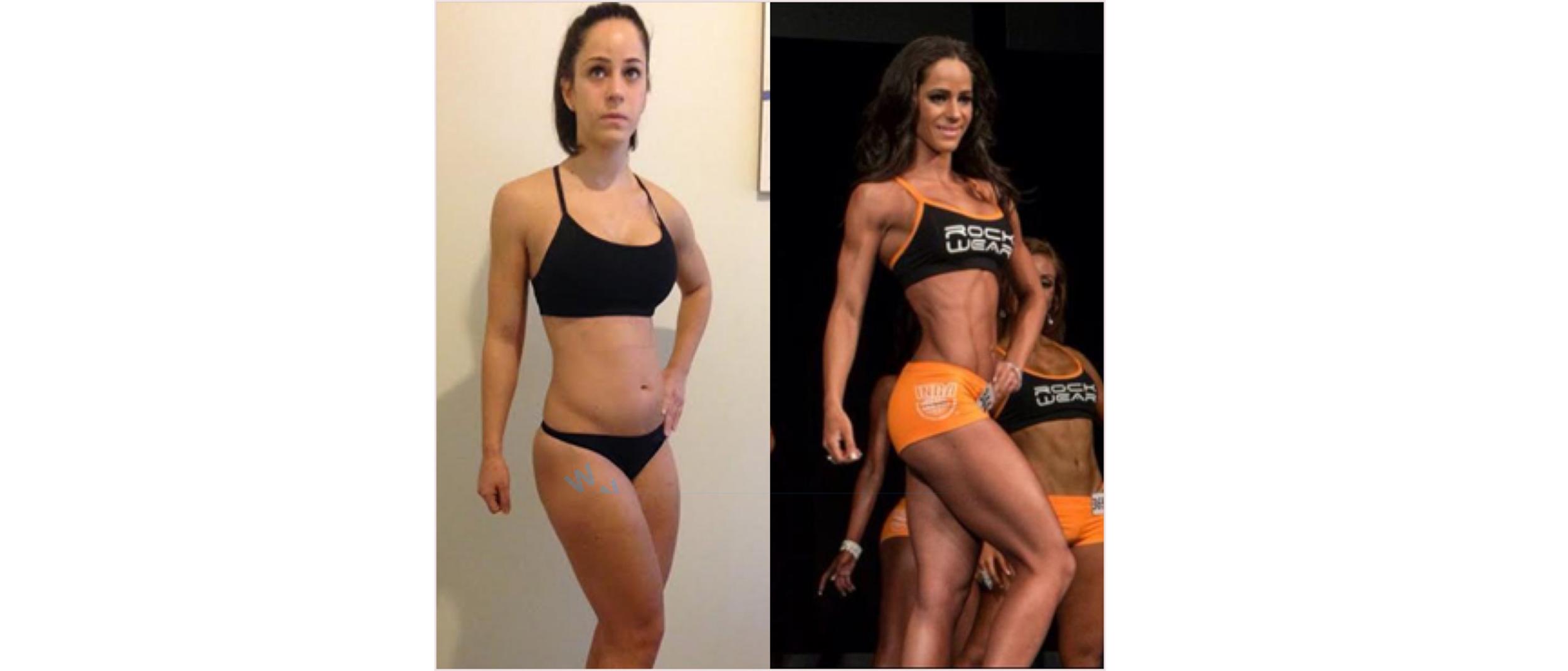 Rachel's Transformation. Photos by Nicky Jankovic