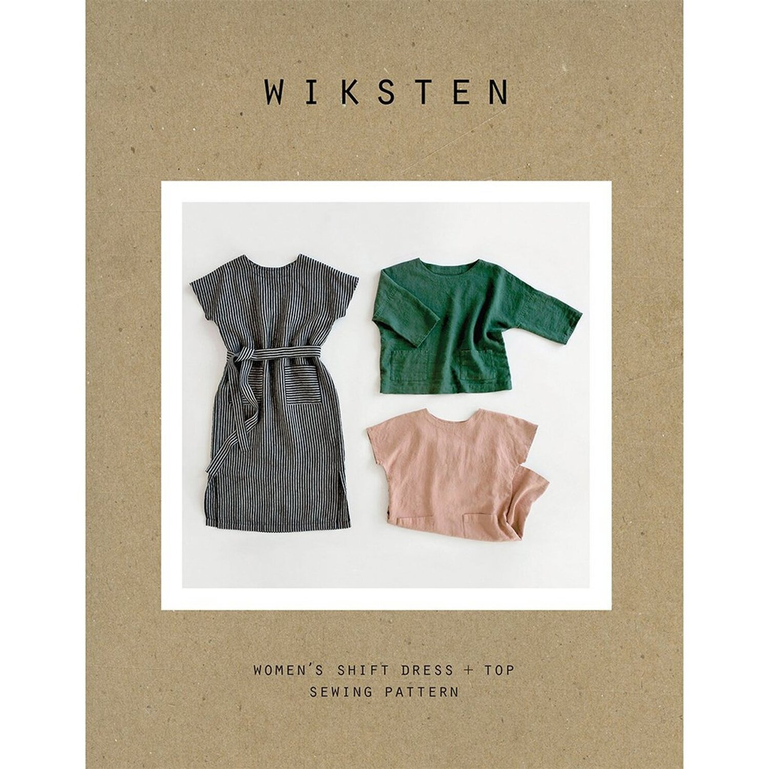 Wiksten Shift Dress - Level: Advanced Beginner. You are comfortable with your machine and have made a few simple garments.