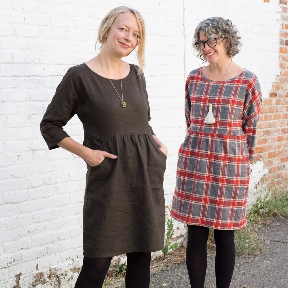 Fen Dress - Level: Advanced Beginner. You are comfortable with your machine and have made a few simple garments.
