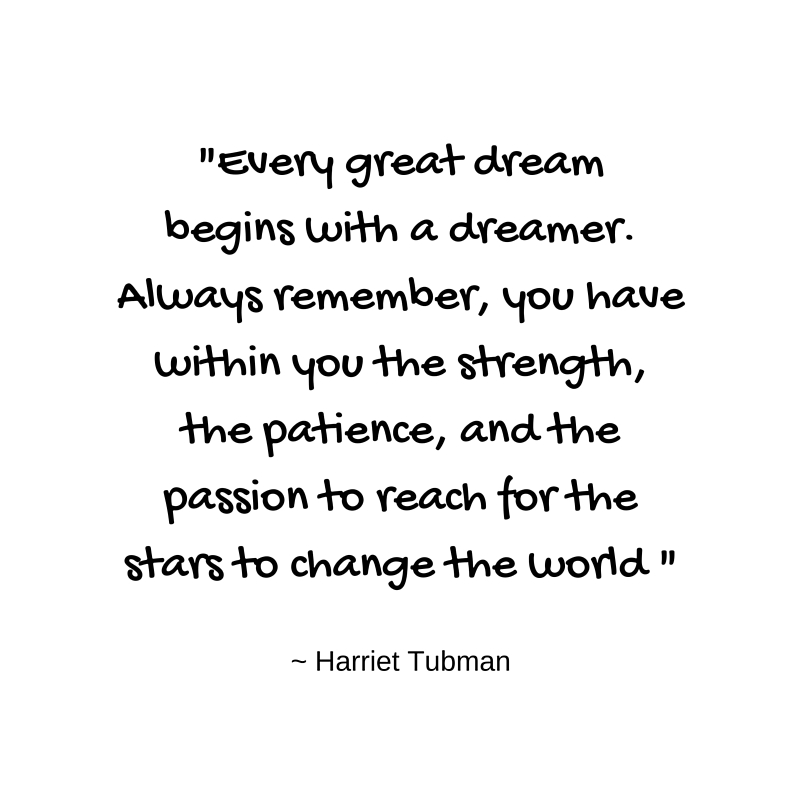 Do you have the courage to pursue your dreams?