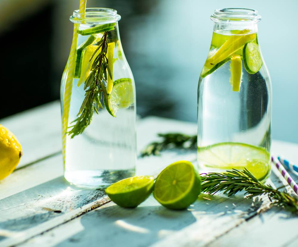 Health benefits of Cucumber & Lemon Water