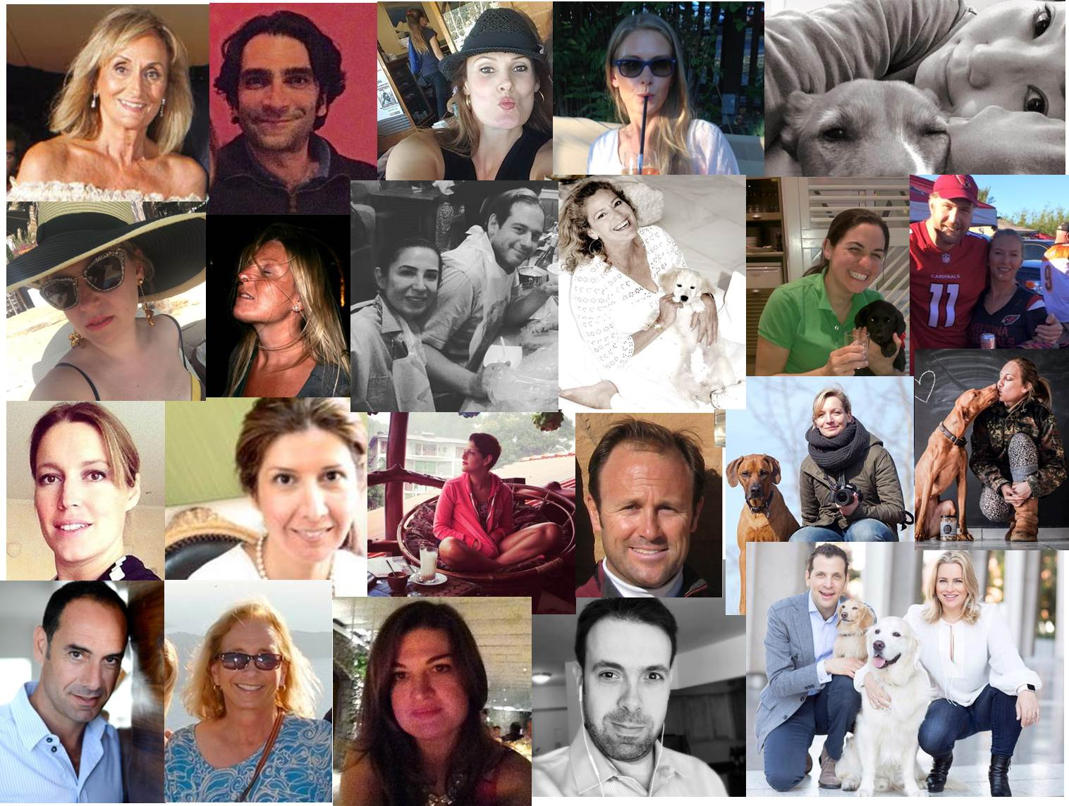 Meet some of the faces of our sponsors above: