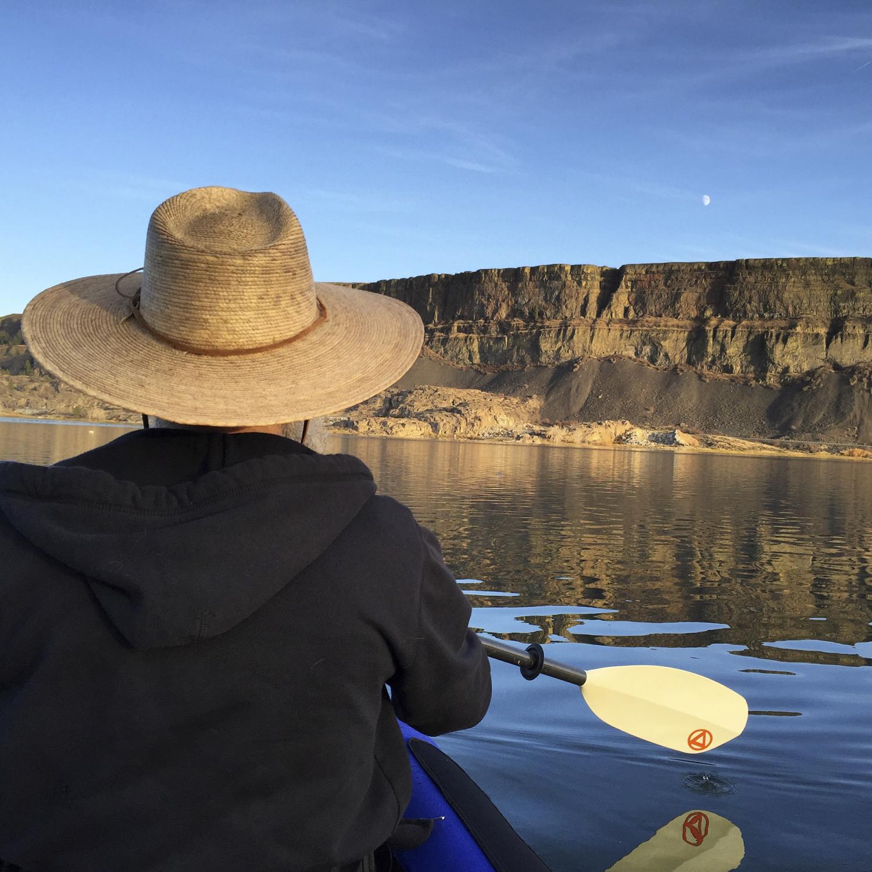 Evening kayak.