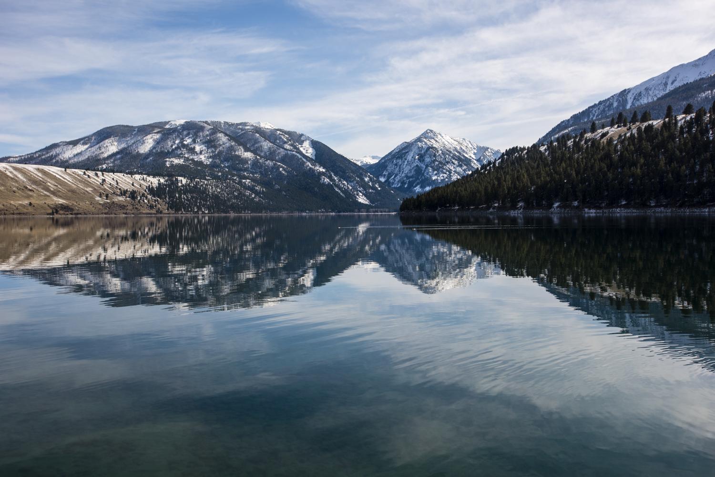 unreal beauty on Wallowa Lake